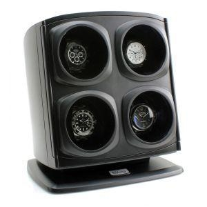 China *NEW DESIGN* Versa Automatic Quad Watch Winder - Black (Sold Out)