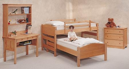Quality Beds and Bedding Pacific Rim Maple Four-in-One Sleep System Beds for sale
