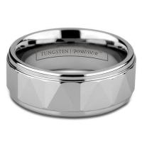China 8MM MENS TUNGSTEN CARBIDE Rings on sale