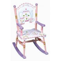 China Playhouse Furniture Tea Party Wood Rocking Chair on sale