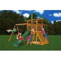 Backyard Playsets Gorilla Backyard Outing III Wooden Swingset [01-0001] Manufactures