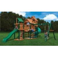Backyard Playsets Gorilla Treasure Trove Wooden Playset Swingset [01-1021] Manufactures