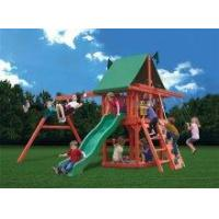 Backyard Playsets Gorilla Red Rambler Wooden Playset Swingset [01-1014] Manufactures
