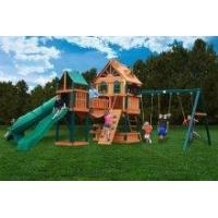 Backyard Playsets Gorilla Woodbridge Wooden Playset Swingset [01-1015] Manufactures