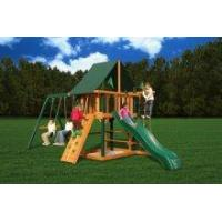 Backyard Playsets Gorilla Backyard Blue Ridge Overlook Wooden Playset [01-1014] Manufactures