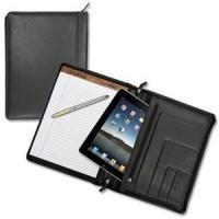 China Lefty's Executive Left-Handed Zippered Leather Padfolio on sale
