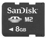 Pen USB SanDisk 8GB Memory Stick M2 Micro - In Stock Manufactures