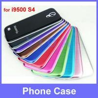 Brushed Metal Aluminum Hard Battery Housing Back Cover Door Case for Samsung Galaxy i9500 S4 MC-S402 Manufactures