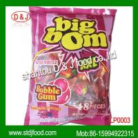 Buy cheap BIG BOM whistle lollipop with gum from wholesalers