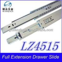 45MM 3-fold drawer slide plastic desk rails for drawers Manufactures