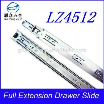 China 45MM 3-fold drawer slide cheap wire deck railings designs