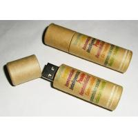 Buy cheap Wooden Bamboo USB Disk Environment paper USB drive from wholesalers