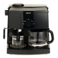 China Krups XP1500 Coffee and Espresso Combination Machine, Black on sale