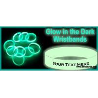 Glow in the dark silicone wristband Manufactures