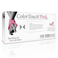 Microflex Color Touch Pink Latex Exam Gloves (Case of 1000) Manufactures