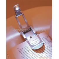 Clip-on White LED Reading Map Book Light Booklight Lamp Manufactures