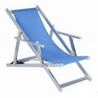 Buy cheap Beach Chair Steel Folding Reclining Beach Chair from wholesalers