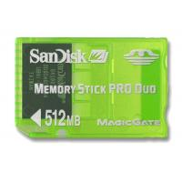 China Memory Sticks Pro Sandisk 512MB Gaming Memory Stick Pro DUO - In Stock on sale