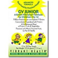 Vibrant Health GV Junior For Children 3-12 11.5oz Manufactures