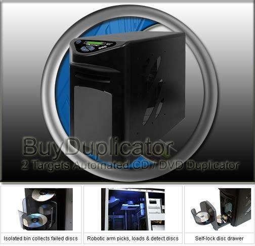 Quality Automated CD / DVD Duplicator for sale