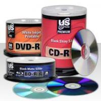 Blank CD/DVD/Blu-ray Media Manufactures