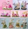Quality Polyresin Easter Gifts, Resin Rabbit (WK019) for sale