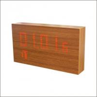 Wooden LED Alarm Clock Manufactures