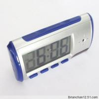 Remote Desk Spy Clock Security DVR Camera Motion Detect Manufactures