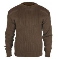 Commando Sweaters Brown Acrylic Military Sweater Manufactures
