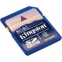China Kingston 8GB SDHC Class 4 Secure Digital Memory Card on sale