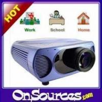 lcd projector lens Big Screen LCD Projector for Home / Office / School