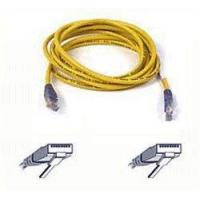 China Belkin Cat5e Moulded UTP Crossover Cable (Yellow 3m) on sale