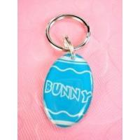 China Blue Easter Egg Pet Id Tag on sale