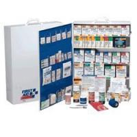 150 PERSON / 4 SHELF INDUSTRIAL FIRST AID STATION WITH POCKET LI[248-O/P-150] Manufactures