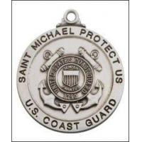 China 7/8 (2.2cm) St. Michael / Coast Guard Medal Necklace on sale