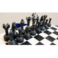 Marble Chess Pieces - Black Manufactures