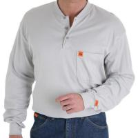FR Henley in 100% Cotton (FR3W8) Manufactures