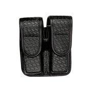 Buy cheap Bianchi 7902 Double Mag Pouch - Basket Black, Brass 22195 from wholesalers