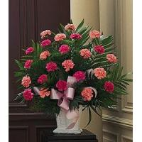 China Classic Carnation Arrangement on sale