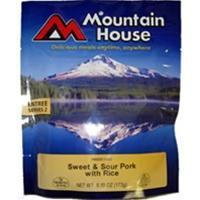 Mountain House Sweet and Sour Pork with Rice, Two Serving Entree Manufactures