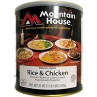 Mountain House - Rice and Chicken #10 Can Manufactures