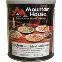 Mountain House - Spaghetti w/ Meat Sauce #10 Can Manufactures