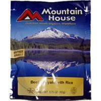 Mountain House Beef Teriyaki with Rice, Two Serving Entree Manufactures