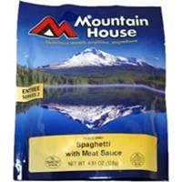 Mountain House Spaghetti with Meat Sauce, Two Serving Entree Manufactures