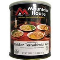 Mountain House - Chicken Teriyaki with Rice #10 Can Manufactures