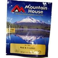 Mountain House Rice and Chicken, Two Serving Entree Manufactures