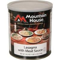 Mountain House - Lasagna w/Meat Sauce #10 Can Manufactures