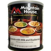 Mountain House - Granola with Milk and Blueberries #10 Can Manufactures