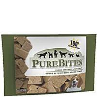 PureBites Beef Liver 0.25oz / 7g - Trial Size Manufactures