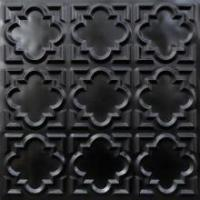 Buy cheap 142 Faux Tin Ceiling Tile Glue up 24x24 - Black from wholesalers